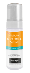 VISIBLY CLEAR<sup>®</sup> Spot Stress Control<sup>®</sup> Daily Foaming Wash