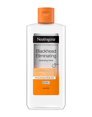 Neutrogena<sup>®</sup> <br>Blackhead Eliminating <br>Cleansing Toner