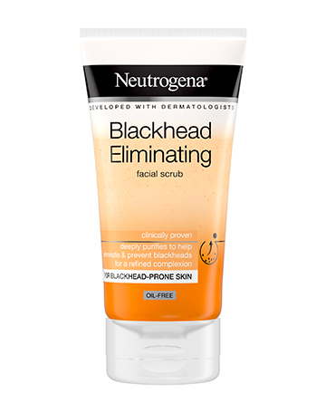 Neutrogena<sup>®</sup> <br>Blackhead Eliminating <br>Facial Scrub