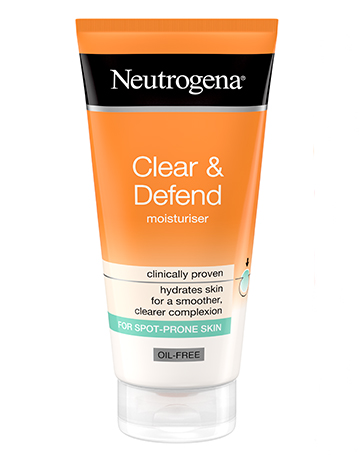 Neutrogena<sup>®</sup> <br>Clear & Defend Moisturiser