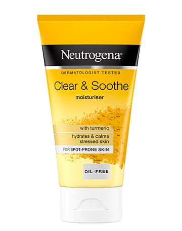 Neutrogena<sup>®</sup> <br>Clear & Soothe <br>Moisturiser