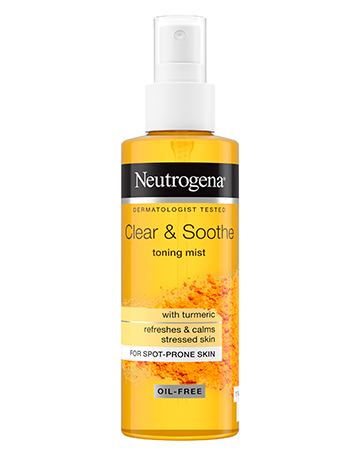 Neutrogena<sup>®</sup> <br>Clear & Soothe <br>Toning Mist