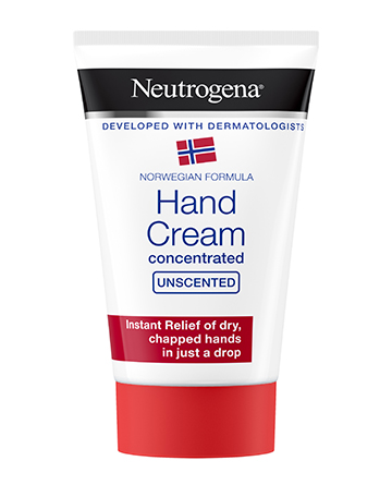 Neutrogena<sup>®</sup> <br>Norwegian Formula Concentrated Unscented Hand Cream