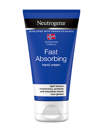 Neutrogena<sup>®</sup> <br>Norwegian Formula <br>Fast Absorbing Hand Cream