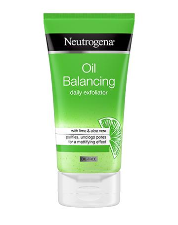 Neutrogena<sup>®</sup> <br>Oil Balancing <br>Daily Exfoliator
