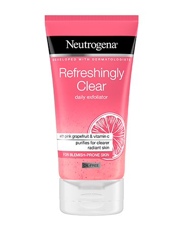 Neutrogena<sup>®</sup> <br>Refreshingly Clear Daily Exfoliator