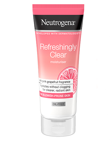 Neutrogena<sup>®</sup> <br>Refreshingly Clear Moisturiser