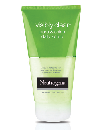 NEUTROGENA VISIBLY CLEAR<sup>®</sup> Pore & Shine Daily Scrub