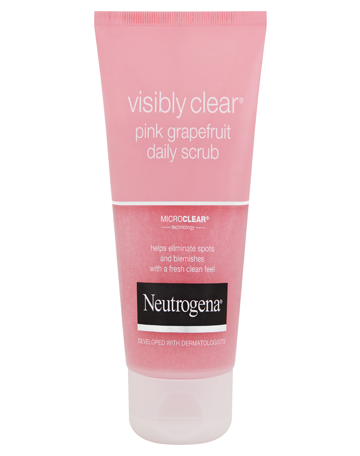 NEUTROGENA VISIBLY CLEAR<sup>®</sup> Pink Grapefruit Daily Scrub