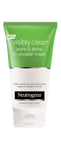 NEUTROGENA VISIBLY CLEAR<sup>®</sup> Pore & Shine In-Shower Mask