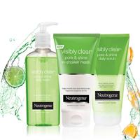 Neutrogena Visibly Clear<sup>®</sup> Pore & Shine ihonhoitorutiini