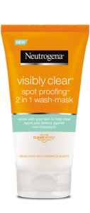 VISIBLY CLEAR<sup>®</sup> Spot Proofing<sup>™</sup> 2in1 Wash Mask