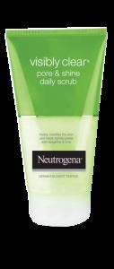 NEUTROGENA VISIBLY CLEAR<sup>®</sup> Pore & Shine Daily Scrub