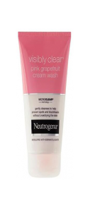 NEUTROGENA VISIBLY CLEAR<sup>®</sup> Pink Grapefruit Cream Wash
