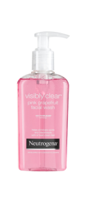 NEUTROGENA VISIBLY CLEAR<sup>®</sup> Pink Grapefruit Facial Wash