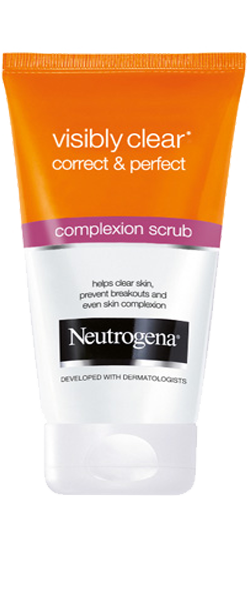 VISIBLY CLEAR<sup>®</sup> Correct & Perfect Complexion Scrub