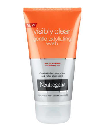 VISIBLY CLEAR<sup>®</sup> Gentle Exfoliating Wash