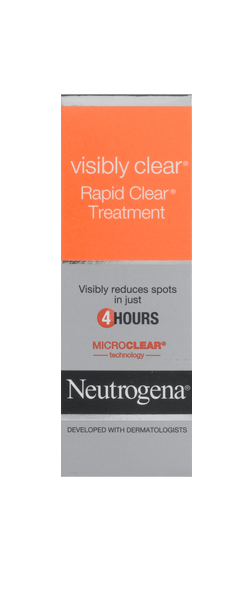 NEUTROGENA VISIBLY CLEAR<sup>®</sup>Spot Clearing Rapid Treatment Gel